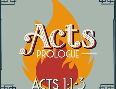 Acts 1:1-3