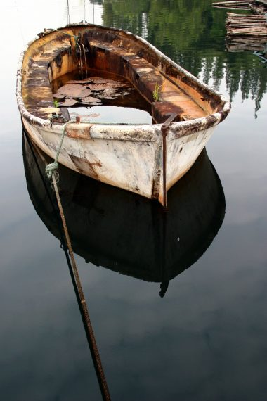 What happens when there's a hole in the boat?