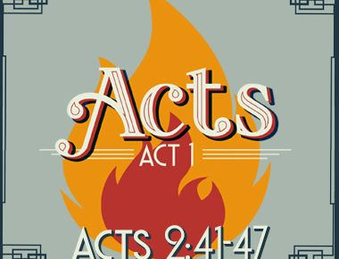 Acts 2:41-47