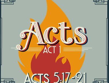 Acts 5:17-21