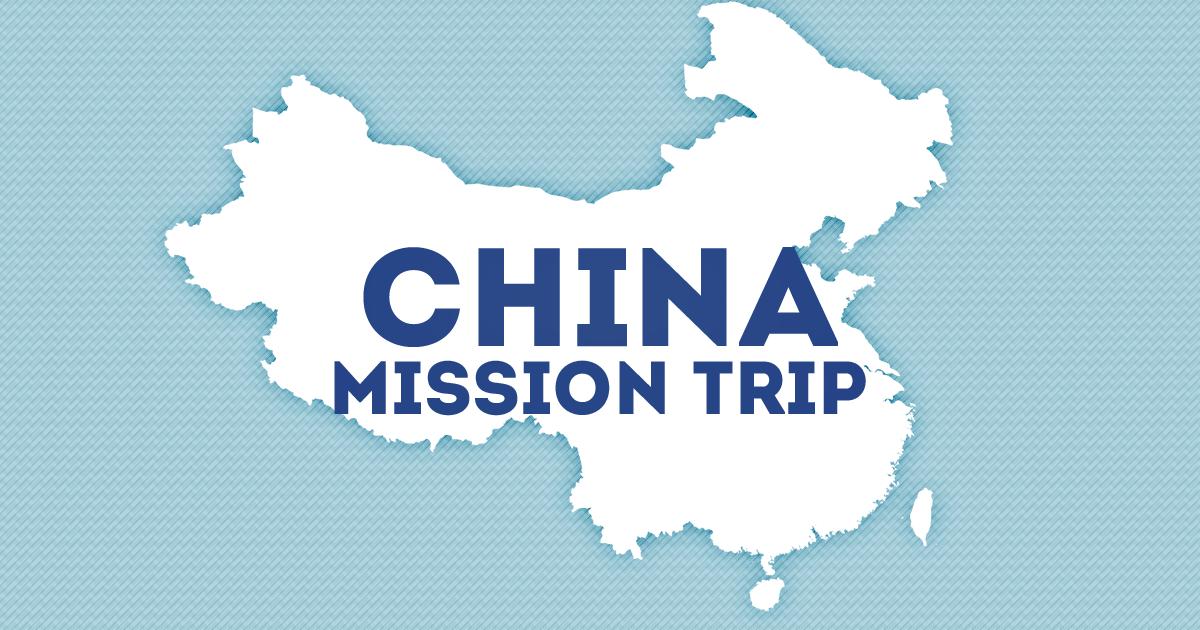 China mission trip 2019