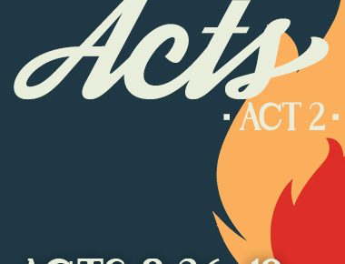 Acts 8:26-40