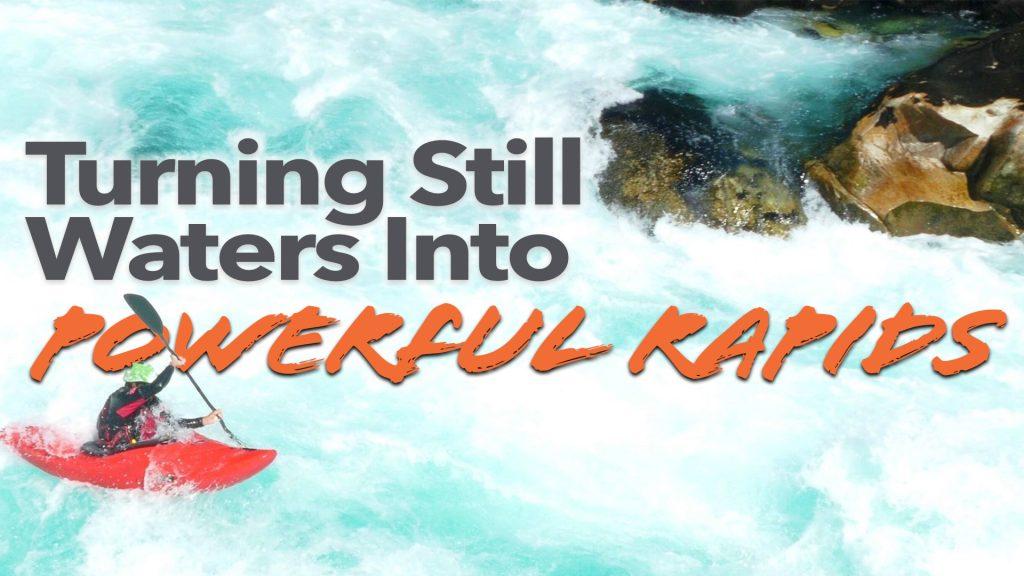 Turning still waters into powerful rapids, Jeff Struecker