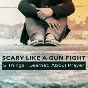 5 Things I learned about prayer